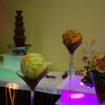 Rzeźby w owocach, carving