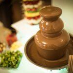 fontanna z czekoladą, fontanna alkoholowa, palma z owoców, atrakcje na imprezy firmowe, eventy, wesela