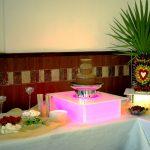 palmy owocowe, fontanna czekolady, carving, piankowe chmurki