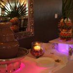 Fontanna czekoladowa i palma owocowa - Bursztyn w Kaliszu