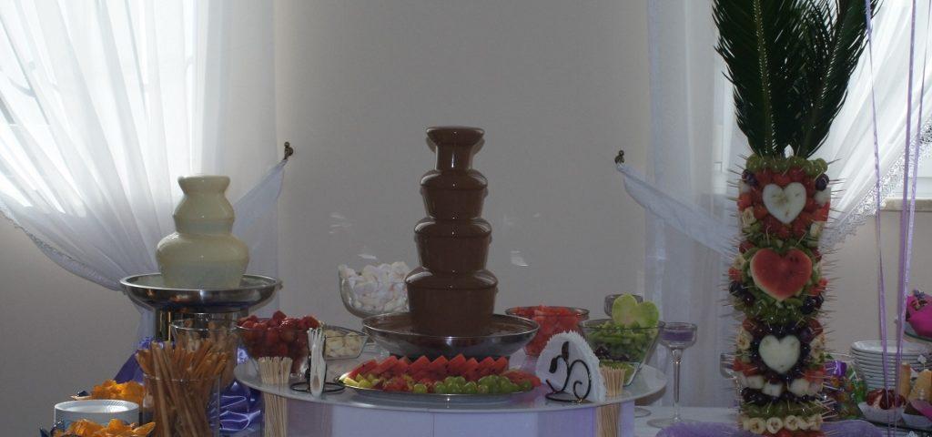 Fontanna z czekoladą belgijską Poznań