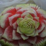 Carving - dekoracje w owocach i warzywach, stoły owocowe