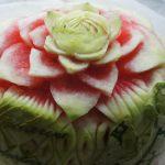 Dekoraja carvingowa z arbuza