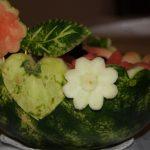 półmisek z arbuza - carving