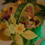 carving - koszyk w arbuzie