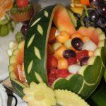 carving - dekoracja z arbuza