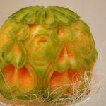 Carving w melonie Cantaloupe - Gala Ślubna Kalisz 2015