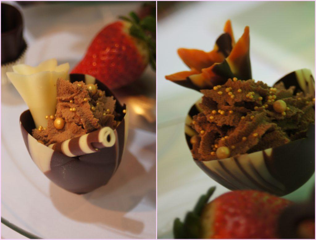 Tulipan marmurkowy z musem czekoladowym - Candy Bar