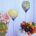 carving - dekoracja owocowa Impresji Smaku