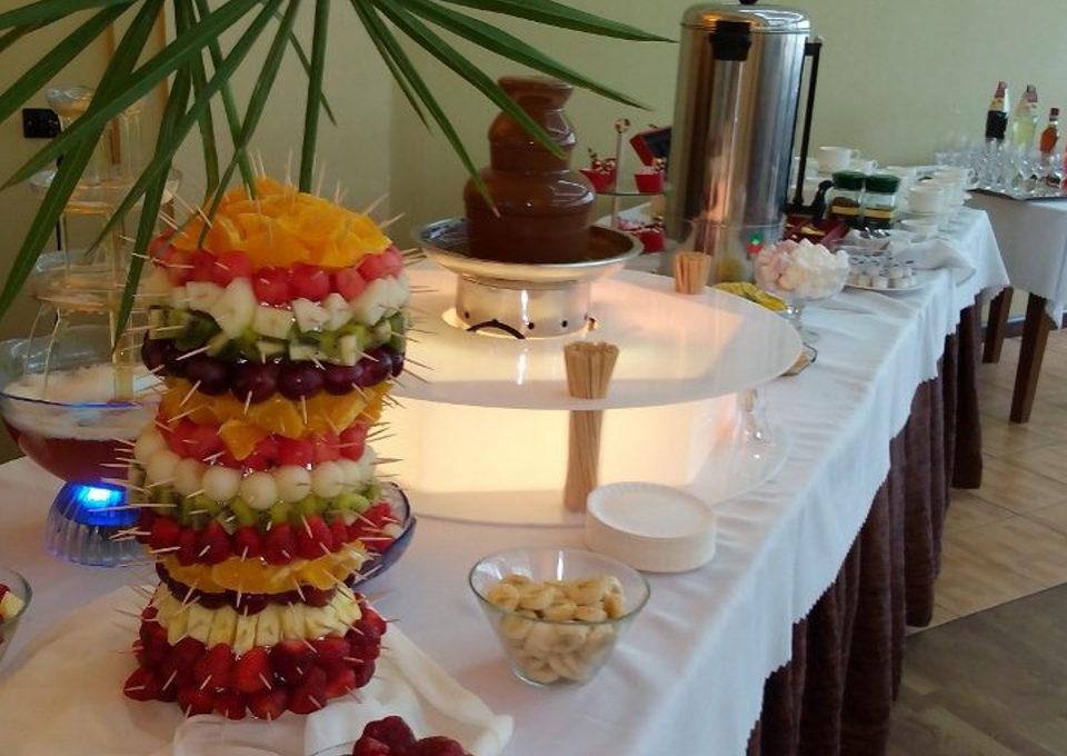 Fontann z czekolady czestochowa