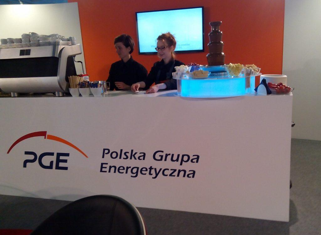 Fontanna czekoladowa na Expopower 2015 dla PGE