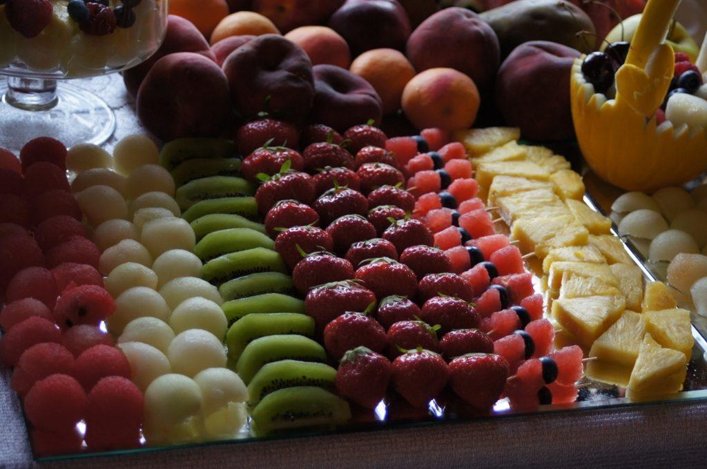 Bufet owocowy do fontanny czekoladowej