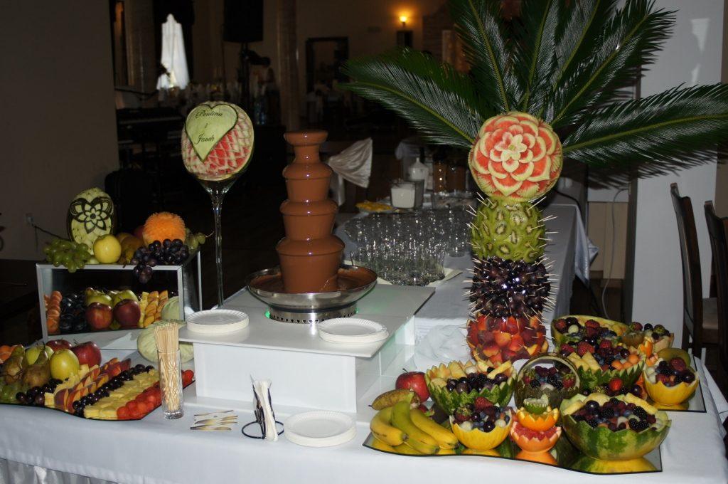 Bufet owocowy, Gościniec Berjo w Babiaku