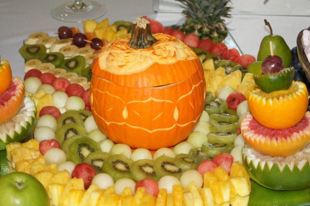 Jesienny bufet owocowy dla Berjo w Babiaku