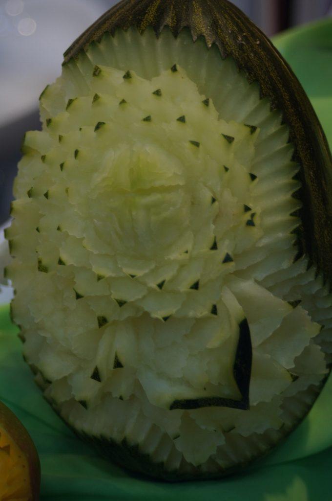 Dekoracje w melonie
