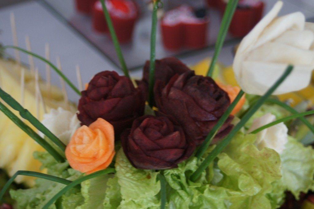 Carving w warzywach - Zajazd Paryż