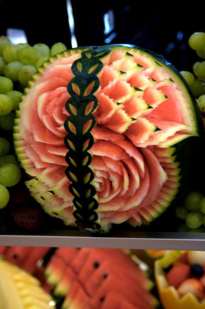 Bufet owocowy, carving, stoły owocowe, Koło, Turek, Kalisz, Konin