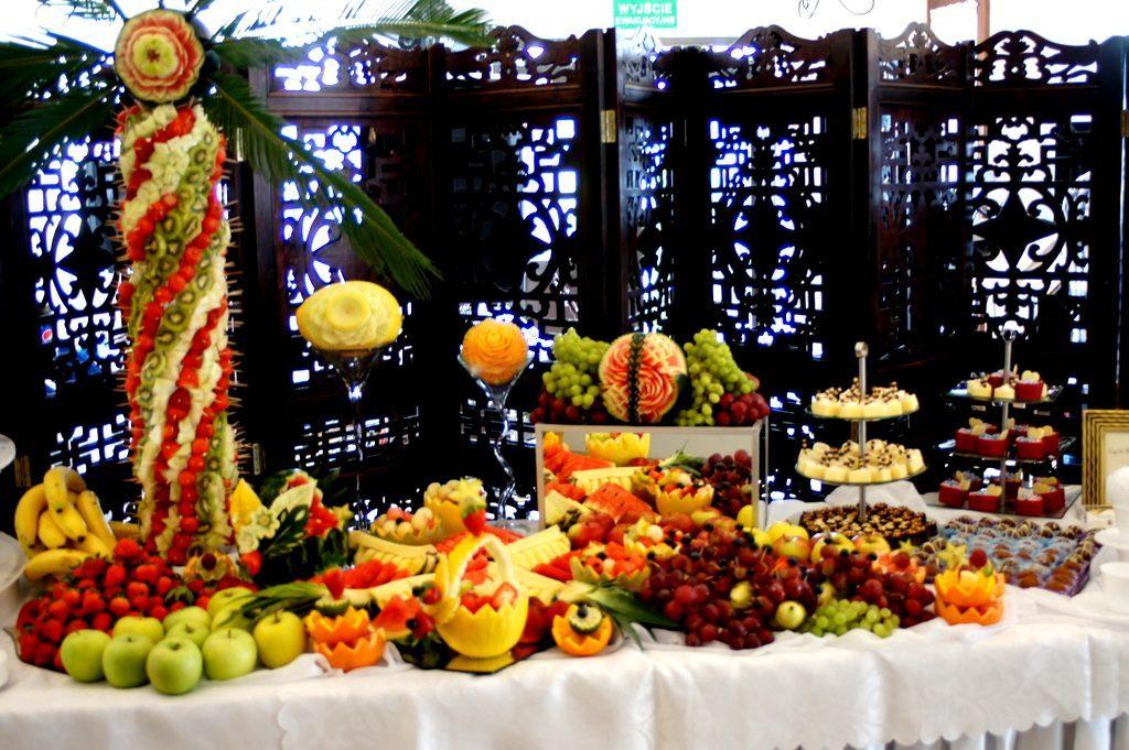 Bufet owocowy, dekoracje owocowe, Poznań, Toruń, Włocławek