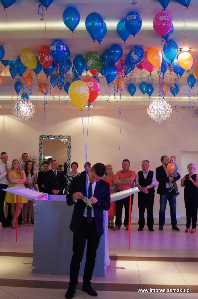 Dekoracje balonowe na 18, wesele, imprezę firmowa