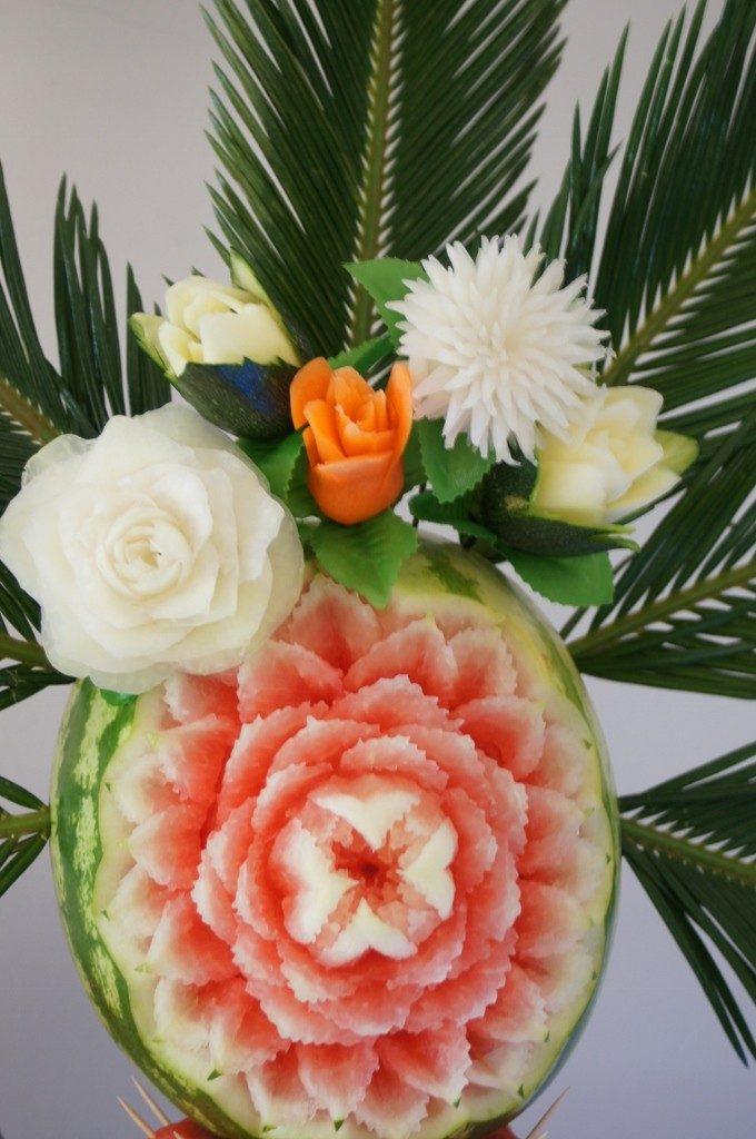 Palma owocowa, bufety owocowe