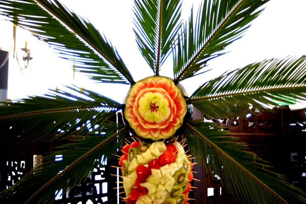 Palma z owoców