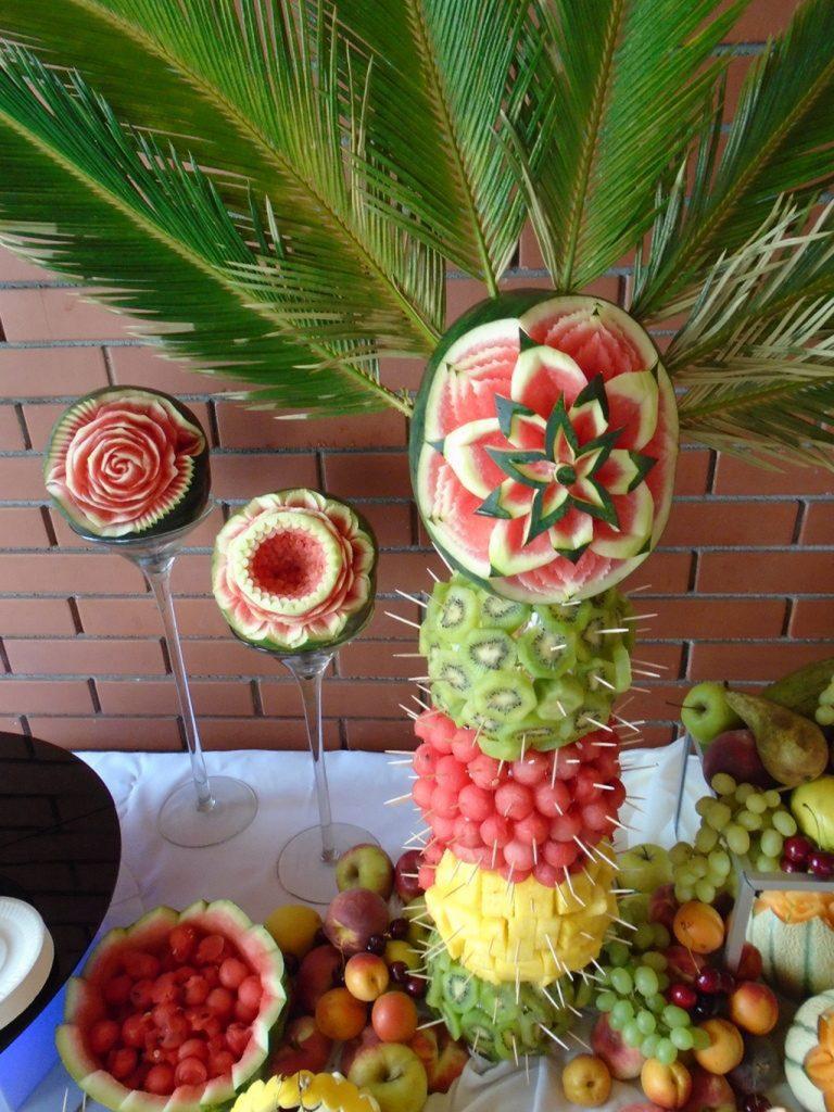 Dekoracje owocowe Zajazd Staropolski