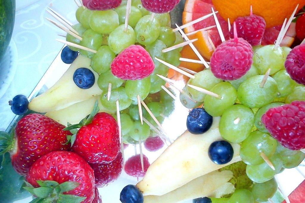 Dekoracje z owoców, stoły owocowe Kalisz