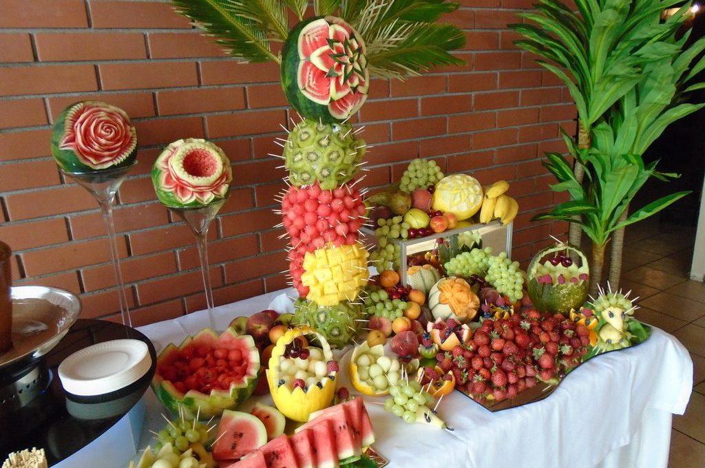 Stół owocowy Zajazd Staropolski Turek