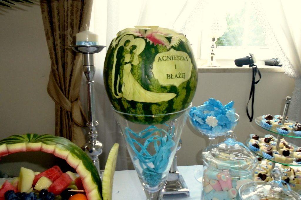 carving, dekoracje z owoców