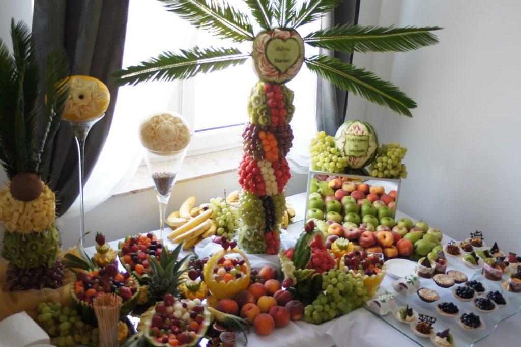 owocowy kącik, bufet owocowy