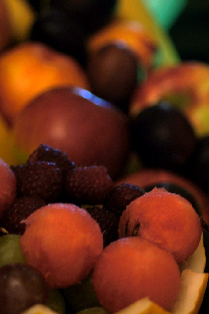 Dekoracje owocowe, bufet owocowy Karczma Miłosna