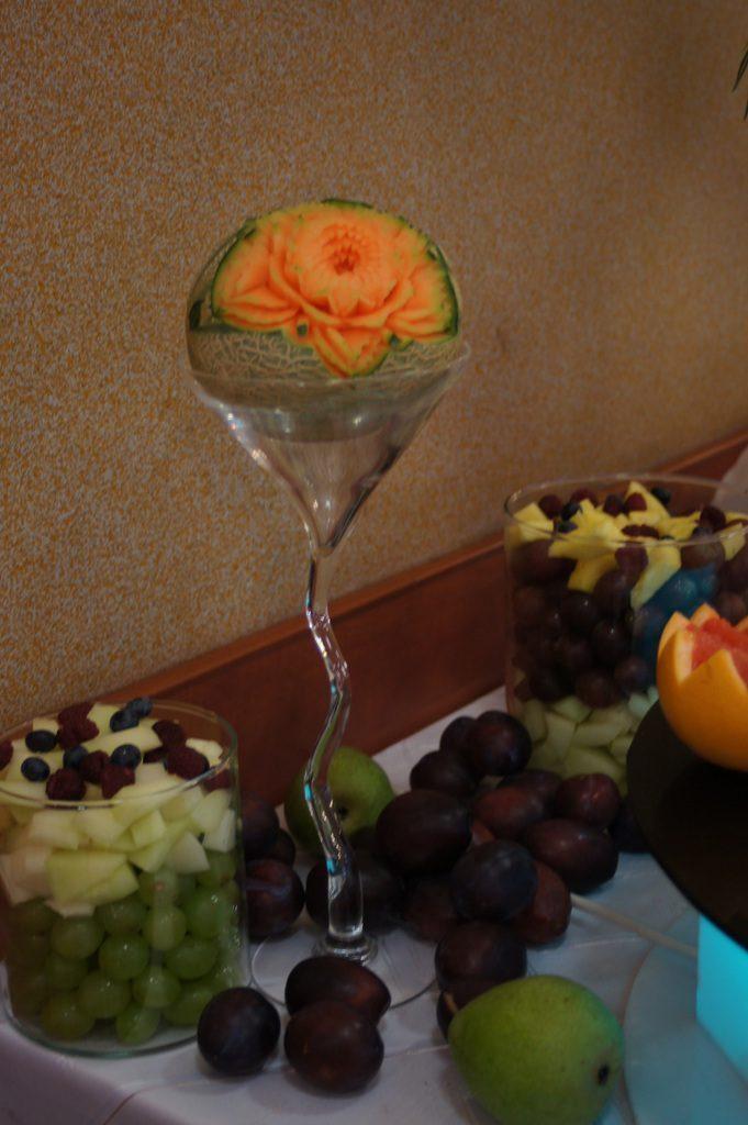 Stół owocowy Turek