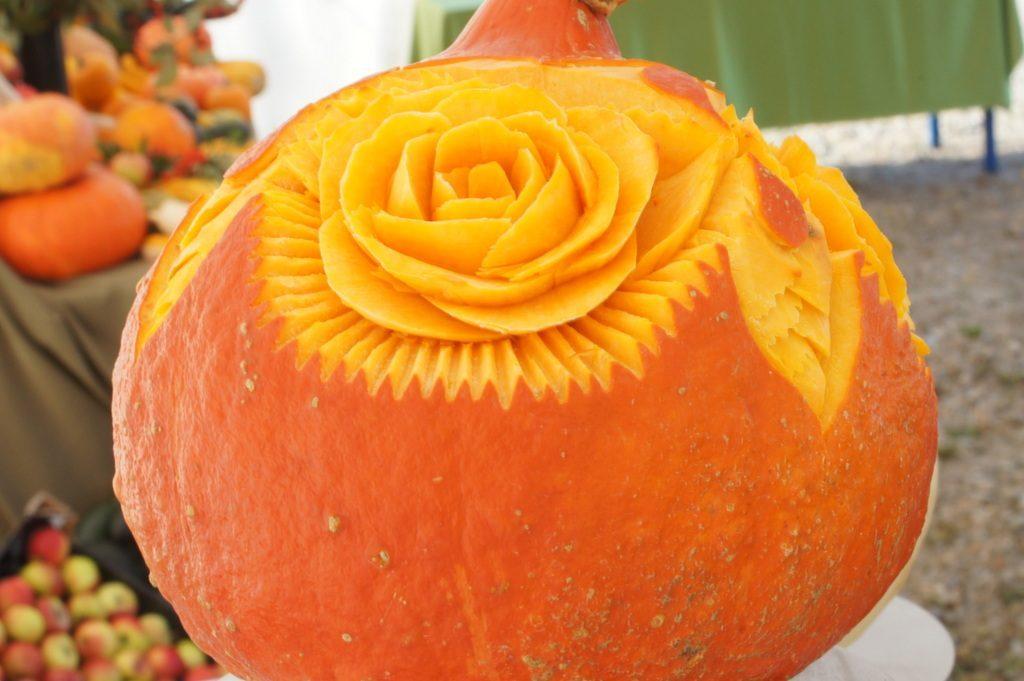 carving, dekoracja w dyni