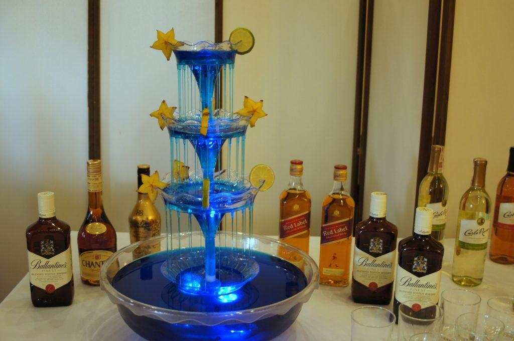 Bufet alkoholowy, Drink-Bar, Fontanna alkoholowa