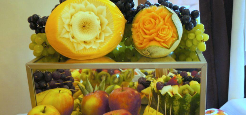 Dekoracje owocowe Berjo w Babiaku