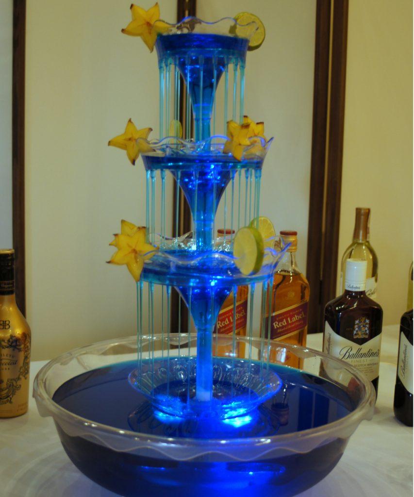 Fontanna alkoholowa, fontanna do drinków