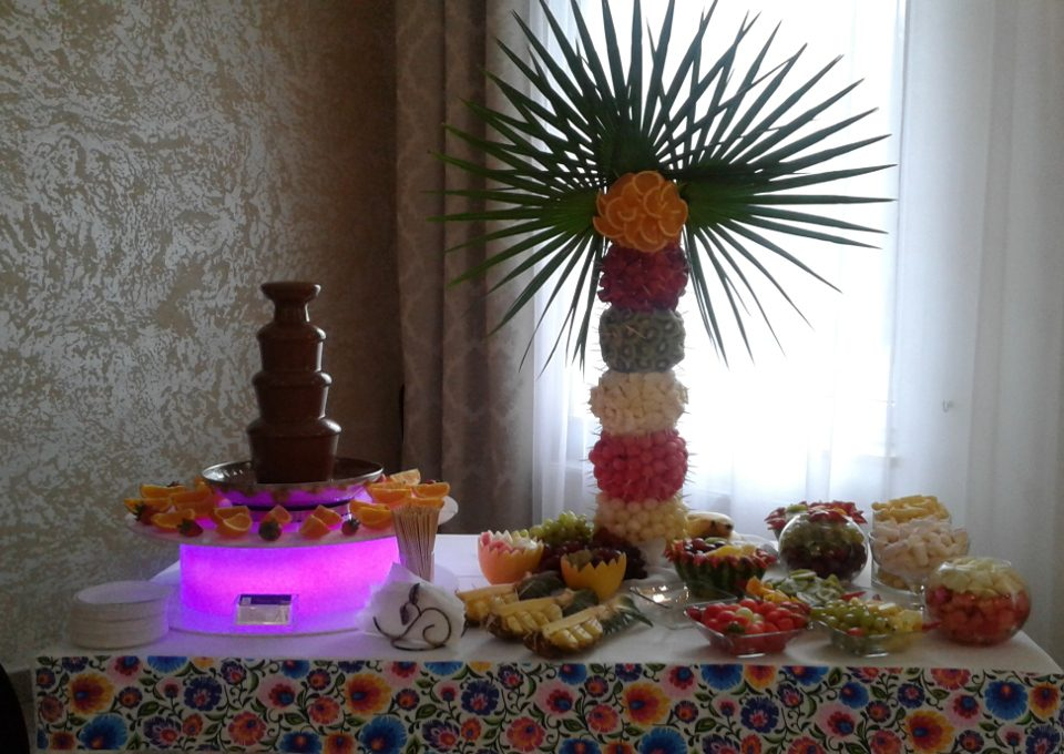 Fontanna czekoladowa i pala owocowa Kutno, Turek Kłodawa, Włocławek