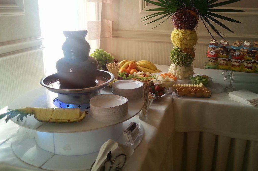 Fontanna czekoladowa, palma owocowa Salem Pabianice