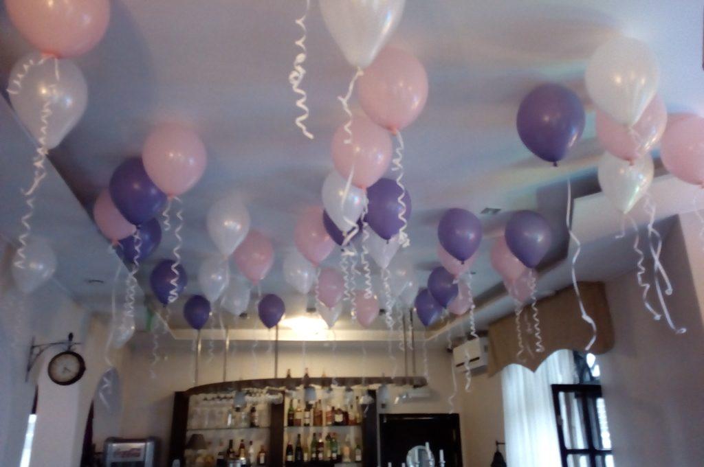 Balony z helem, dekoracje balonowe kalisz, Konin, Turk, Koło