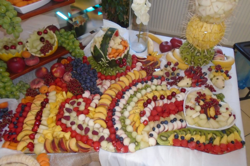 Bufet owocowy, carving, Koło, Konin, Turek, Włocławek, Sompolno