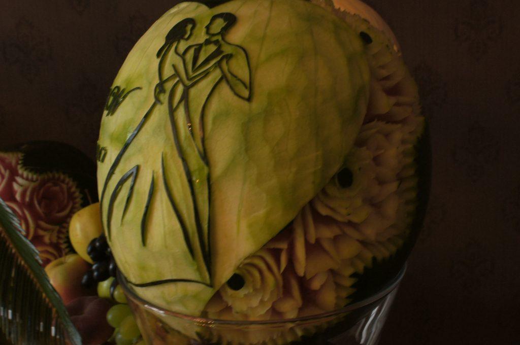 Dekoracje owocowe, carving Koło, Konin, Poznań, Jarocin