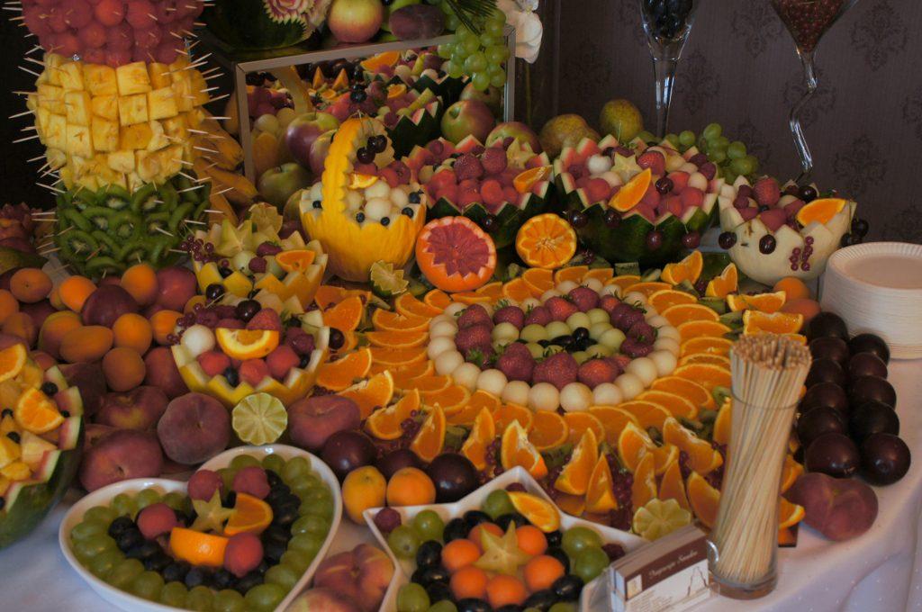 Dekoracje owocowe, carving Palac Tarce, Konin, Koło, Włocławek