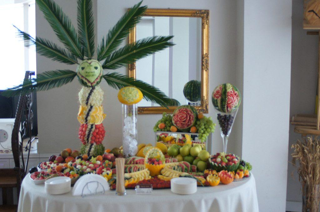 Bufet owocowy, caring Dworek w Grabowie nad Prosną