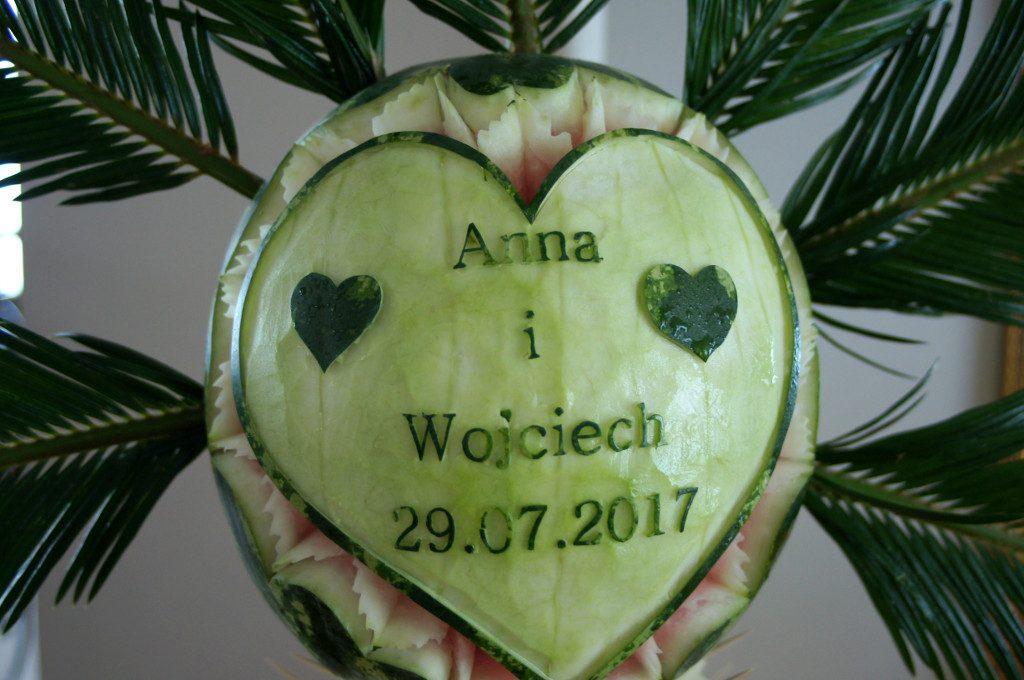 Dekoracje z owoców, palmy owocowe, stoły z owocami, Poznań, Konin, Turek, Kalisz