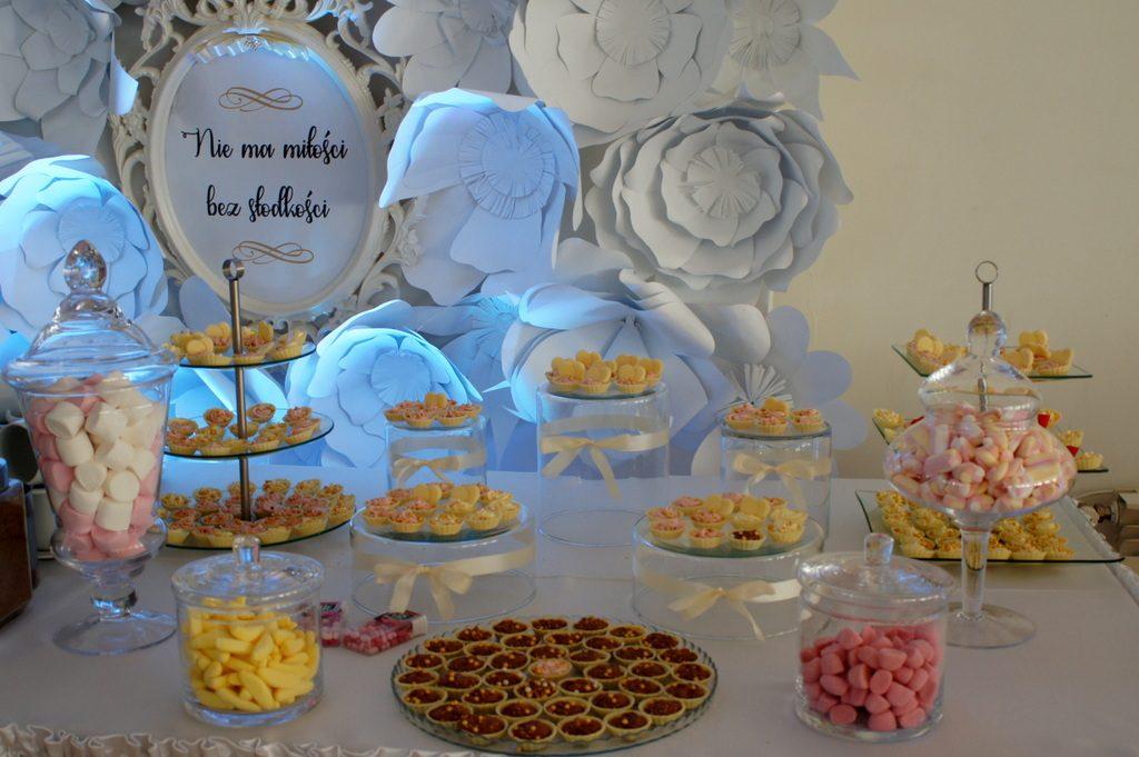 Słodki stół, candy bar Eden w Turku