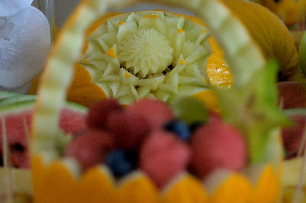 dekoracje owocowe na wesele Dworek w Grabowie nad Prosną