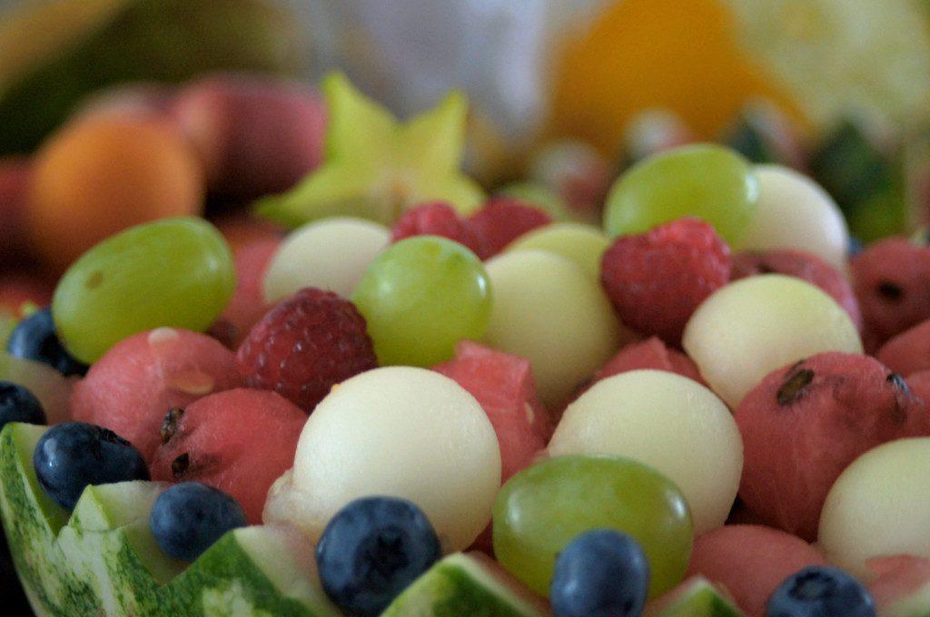 dekoracje w owocach na wesele, Dworek w Grabowie nad Prosną
