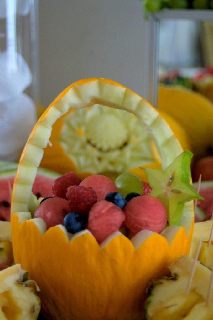 kosze owocowe, carving Dworek w Grabowie nad Prosną