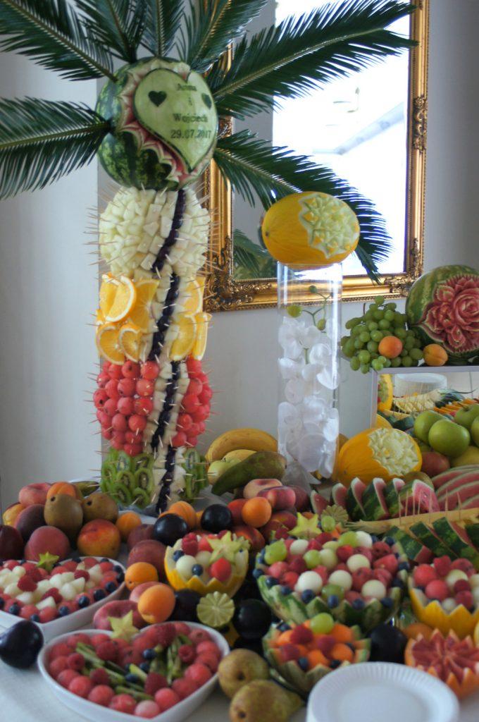 owocowe dekoracje Dworek w Grabowie nad Prosną