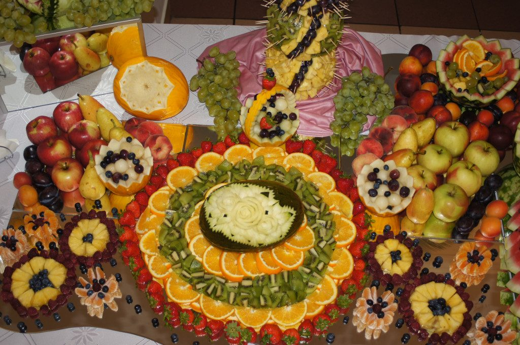 stoły owocowe, bufety owocowe Koło, Turek, Poznań, Warszawa